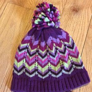 56d7c9af446 Missoni for Target Accessories - Missoni knit chevron hat   scarf set